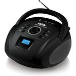 Аудиомагнитола BBK BS08BT черный 4Вт/MP3/FM(dig) /USB/BT/microSD