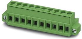 MSTB 2,5/ 5-STF-5,08, Разъем для печатной платы, 12 A, полюсов 5, размер шага 5,08 мм, винтовой зажим с натяжной гильзой