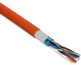FTP4-S нг(А)-HF (01-0150), Витая пара (огнестойкая), 4 пары Cat5e, 24AWG одножильные экранированные