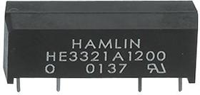 HE3321A1200, Реле герконовое