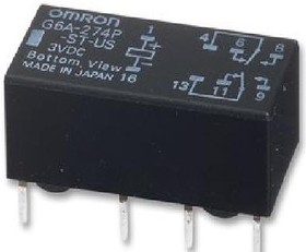 G6A-274P-ST-US 24DC, Реле 2 пер. 24 VDC 2A/30VDC