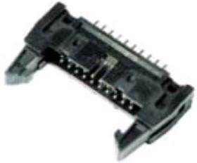 LBH34 -G, Вилка на плату 34 pin