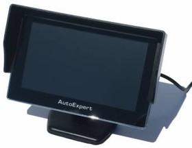 """Автомобильный монитор AutoExpert DV-450 4.3"""" 16:9 480x272 2Вт"""