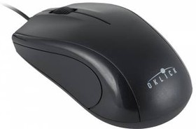 Мышь OKLICK 185M оптическая проводная USB, черный [m201]