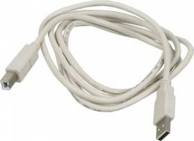Кабель USB2.0 NINGBO USB A (m) - USB B (m), 1.8м, блистер [usb2.0-am-bm-br]