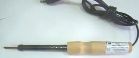 Фото 1/2 ЭПЦН (36В,18Вт), ø 4 мм, Паяльник нихромовый нагреватель, деревянная ручка