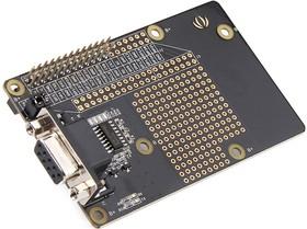 Фото 1/4 Raspberry Pi RS232 Board v1.0, Плата расширения для Raspberry Pi, интерфейс RS-232