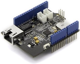 Фото 1/7 W5500 Ethernet Shield, Ethernet интерфейс к Arduino-совместимой плате