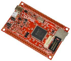 Фото 1/2 PIC32-HMZ144, Отладочная плата на МК PIC32MZ2048ECG (200МГц , 2MB Flash и 512KB SRAM)