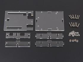 Фото 1/5 Arduino UNO R3 Acrylic Enclosure - Clear, Корпус для Arduino Uno (прозрачный)