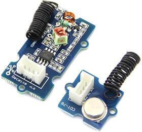 Фото 1/2 Grove - 315MHz Simple RF Link Kit, Приемник + передатчик 315МГц для Arduino проектов