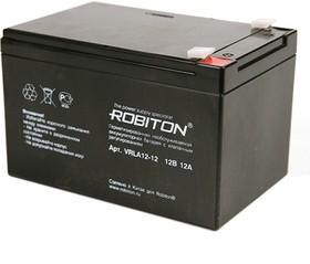 ROBITON VRLA12-12, Аккумулятор