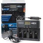 Фото 4/4 Ansmann Powerline 5 Pro, Устройство зарядное с ЖК дисплеем для АА/ААА/C/D,крона Ni-Mh/Ni-Cd
