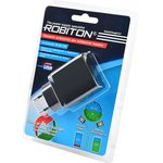 ROBITON QuickCharger3.0 + MicroUSB, 1м BL1, Адаптер/блок питания