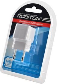 Фото 1/2 ROBITON Charger5W white BL1, Адаптер/блок питания