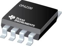 OPA2350UA, Прецизионный операционный усилитель х2, Uсм=150мкВ R/R [SO-8]