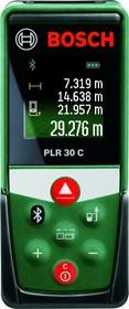 Фото 1/5 PLR 50 C [0603672221], Дальномер лазерный с Bluetooth, 50м