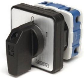 PSA025AK131S, Переключатель кулачковый на панель 25А 400VAC тип 1-2