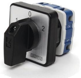 PSA040KD134S, Переключатель кулачковый на панель 40А 400VAC тип 1-0-2