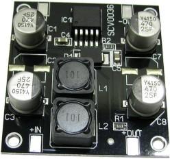 SCV0036-24V, Импульсный повышающий стабилизатор напряжения 24В