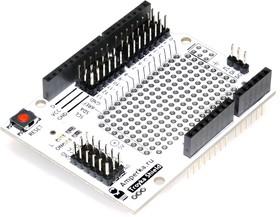 Фото 1/4 Troyka-Shield, Плата расширения с макетной областью для подключения периферийных Arduino модулей