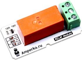 Фото 1/2 Troyka-Relay, Релейный модуль на основе RTD14005 16А/250В (7А/30В) для Arduino проектов