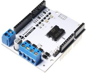 Фото 1/3 Motor Shield (2 канала, 2 А), Плата управления двигателями на основе L298P для Arduino проектов