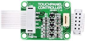 Фото 1/4 MIKROE-261, TouchPanel Controller Board, Плата контроллера сенсорного экрана