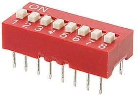 Переключатель KLS7-DS-08 (SWD1-8)
