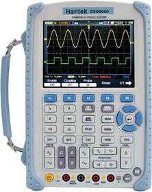 Фото 1/2 DSO8060, Портативный осциллограф, 2 канала х 60МГц