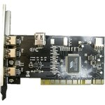 Контроллер PCI VIA6306 1xIEEE1394(4p) 3xIEEE1394(6p) Bulk ...