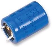 ECAP (К50-35), 220 мкФ, 450 В, 85°C, MAL215747221E3, Конденсатор электролитический алюминиевый