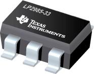 LP2985-33DBVR, Малошумящий стабилизатор напряжения с отключением (0.01мкА), 150мА, 3.3В [SOT23-5]