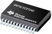 Фото 1/4 SN74LVC8T245PWR, 8-битный шинный приемопередатчик [TSSOP-24]