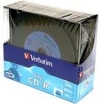 Фото 2/2 Verbatim 43426 CD-R 80 52x DL+SL/10 Vinyl, Записываемый компакт-диск