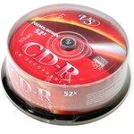Фото 2/2 VS CD-R 80 52x CB/25, Записываемый компакт-диск