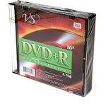 Фото 2/2 VS DVD+R 4.7 GB 16x SL/5, Записываемый компакт-диск