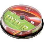 Фото 2/2 VS DVD+R 4.7 GB 16x CB/10, Записываемый компакт-диск (упаковка из 10)