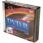 Фото 2/2 VS DVD-R 4.7 GB 16x SL/5, Записываемый компакт-диск