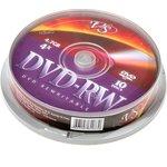 Фото 2/2 VS DVD-RW 4.7 GB 4x CB/10, Перезаписываемый компакт-диск