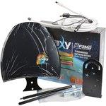 РЭМО BAS-1318-USB GALAXY наружная с усилителем, кабель 5м, Антенна