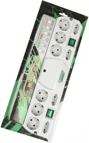 MOST TANDEM TRG-Б 5м 10 розеток, белый BL1, Сетевой фильтр