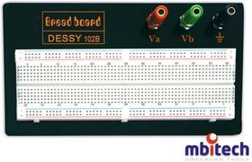 BB-102-B, Плата макетная беспаечная 165х55х10 мм