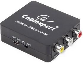Фото 1/2 DSC-HDMI-CVBS-001, Конвертер HDMI - RCA, HD19Fx3RCA, HDMI - 3xRCA (1x video, 2x audio)