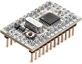 Фото 1/3 Iskra Mini (с ногами), Программируемый контроллер на базе ATmega328 (аналог Arduino Mini)