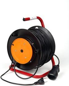 КРОНА КС123050 РС-1 (УР10-1) 50м (на катушке) для газонокос. (ПВС 2х0,75), Силовой удлинитель
