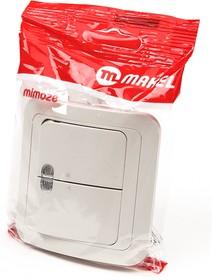 MAKEL MIMOZA 2 кл с подс. 25023 кремовый BL1, Выключатель