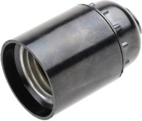 VOLSTEN V03-CS-SM-E27 резьбовой, карболит, черный, Электропатрон