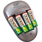 Фото 3/3 PB27, Устройство зарядное 1-4 AA/AAA Ni-MH + USB, 4 аккумулятора AA 2700mah