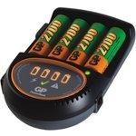 Аккумулятор + зарядное устройство GP PowerBank PB50GS270CA, 4 шт. AA, 2700мAч